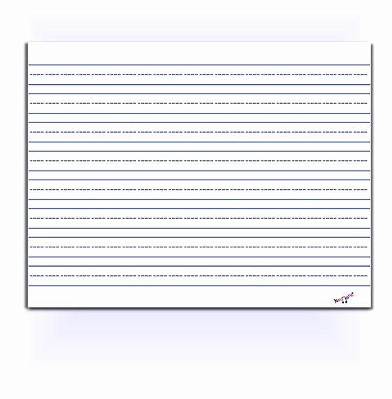 Wide Lined Paper for Kindergarten Fresh Lined Paper Kindergarten Preschool Elementary Homeschool