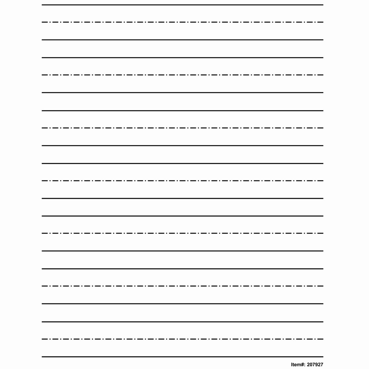 Wide Lined Paper for Kindergarten Unique Maxiaids