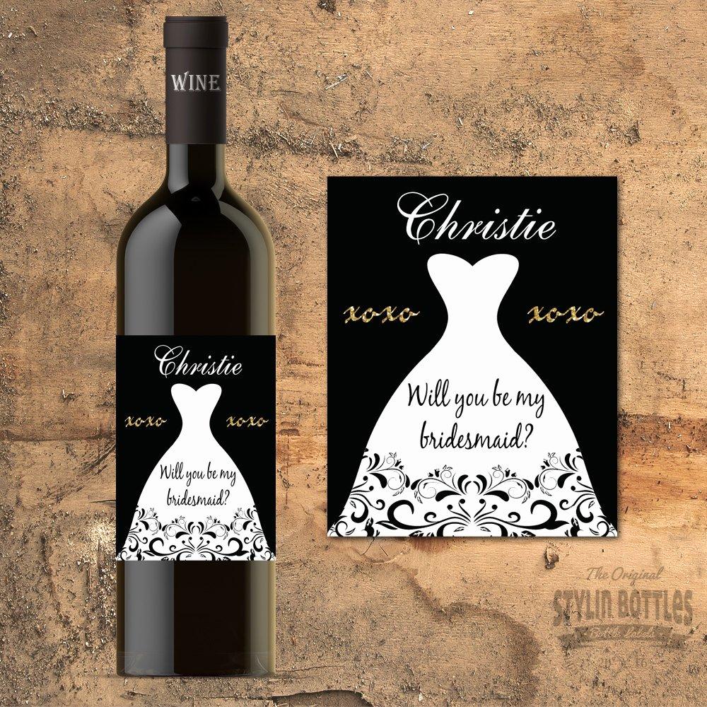 Wine Labels for Bridal Shower Best Of Bridal Shower Wine Labels Wine Bottle Labels Bridal Shower