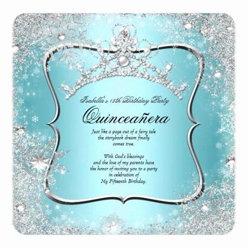 Winter Wonderland Quinceanera Invitations Elegant 121 Best Images About Princess Quinceanera Invitations On