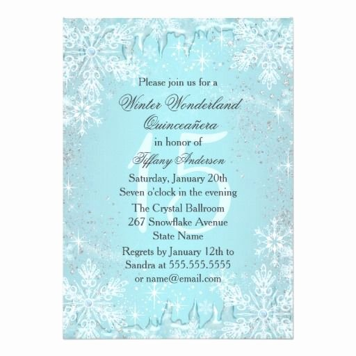 Winter Wonderland Quinceanera Invitations Lovely 17 Best Images About Quinceanera Invitations On Pinterest