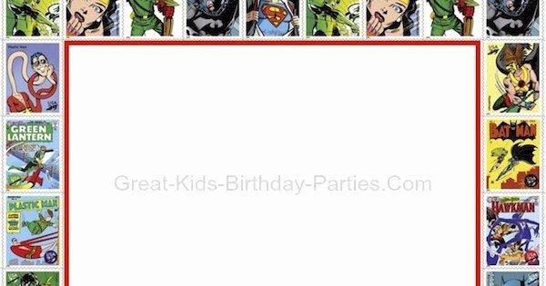 Wonder Woman Invitation Template Unique Superheroes Free Printable Mini Kit Oh My Fiesta for Geeks