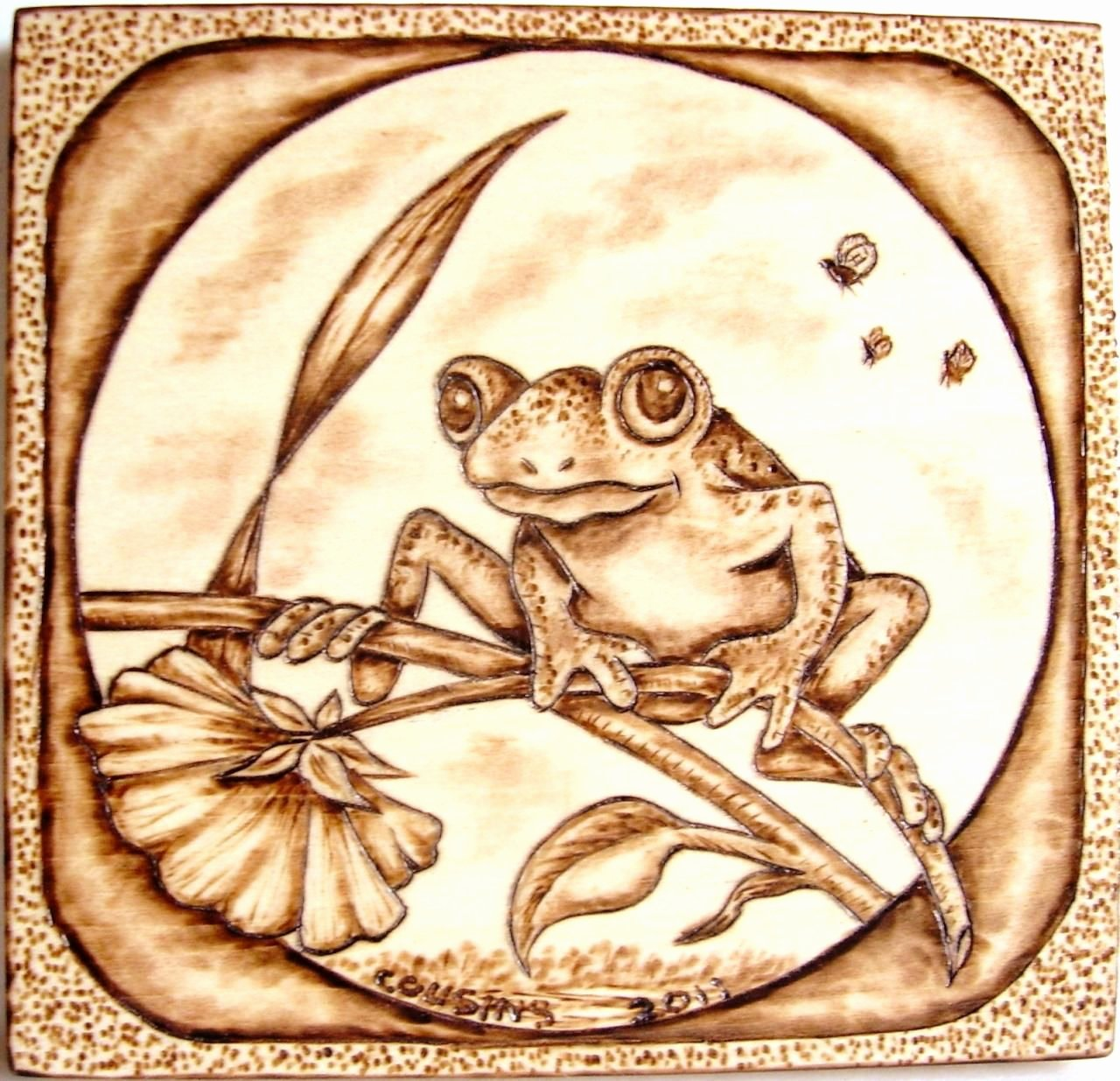Wood Burning Art Patterns Awesome Very Detailed Pyrography