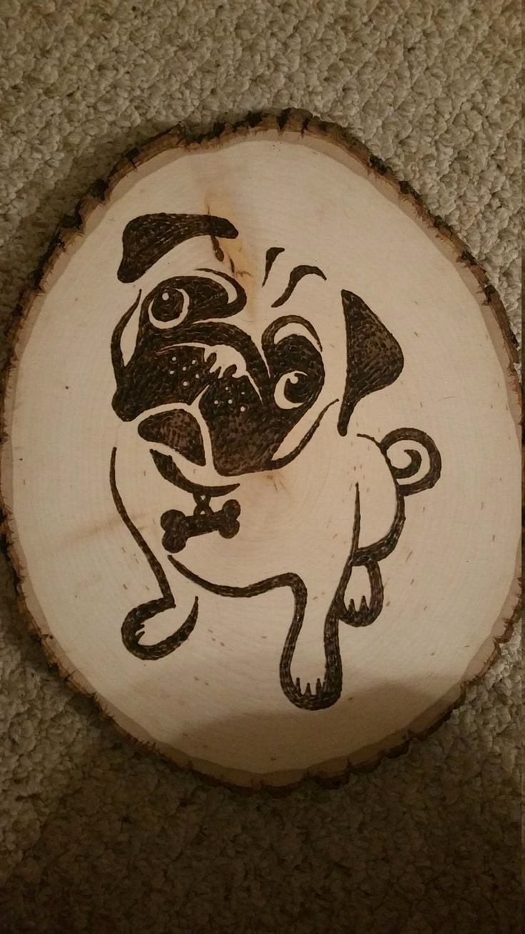 Wood Burning Art Patterns Best Of 17 Best Pug Patterns Images On Pinterest