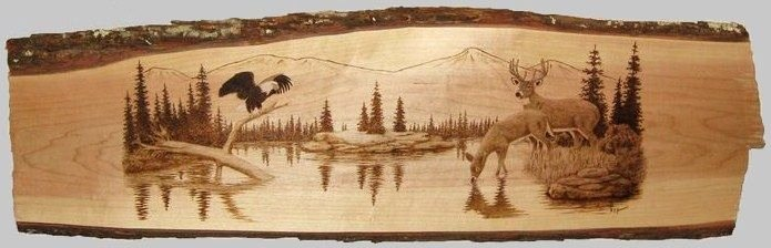 Wood Burning Art Patterns Unique Wood Burning Patterns Wildlife Woodworking Projects & Plans