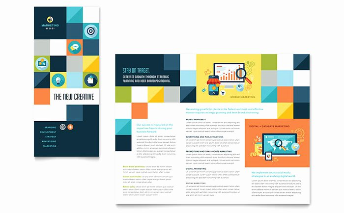 Word Brochure Template Tri Fold Best Of Advertising Pany Tri Fold Brochure Template Word
