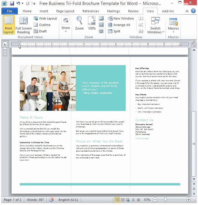 Word Brochure Template Tri Fold Lovely Wonderful Layout Of the Tri Fold Brochure Perfect for