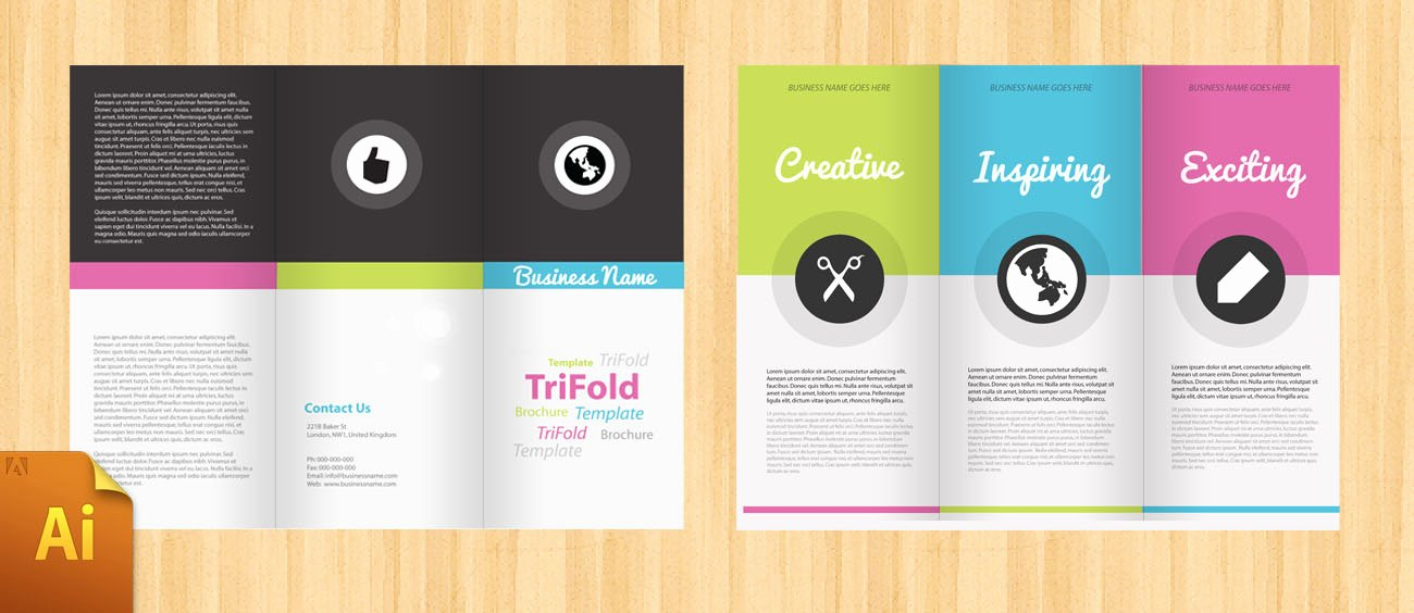 Word Brochure Template Tri Fold Luxury Free Corporate Tri Fold Brochure Template Designbump