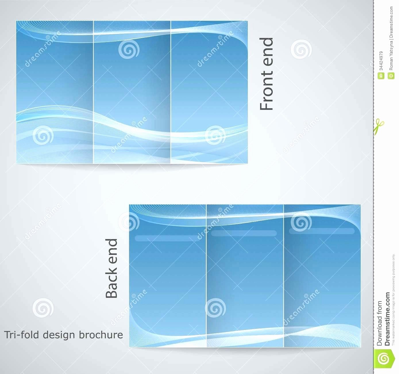 Word Brochure Template Tri Fold New Free Tri Fold Brochure Templates Microsoft Word Pics