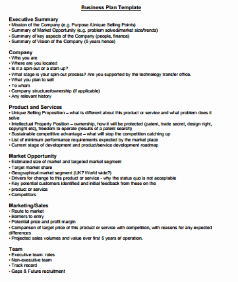 Word Executive Summary Template Lovely 43 Free Executive Summary Templates In Word Excel Pdf