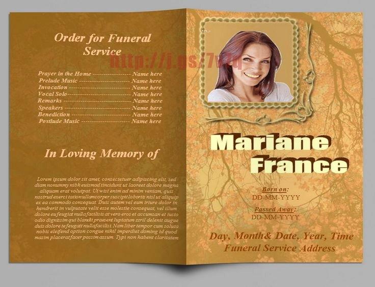 Word Funeral Program Template Beautiful 79 Best Images About Funeral Program Templates for Ms Word