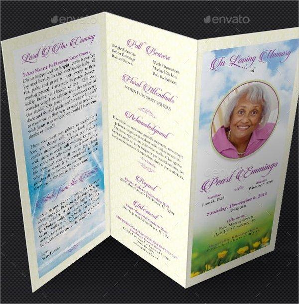 Word Funeral Program Template Fresh 16 Funeral Memorial Program Templates Psd Ai Vector
