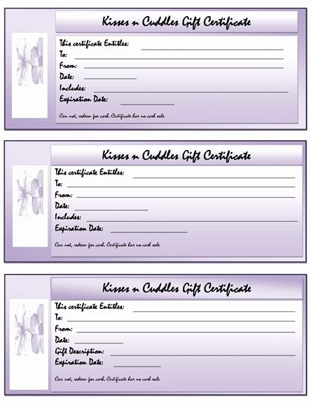 Word Gift Certificate Template Awesome 25 Unique Gift Certificate Template Word Ideas On