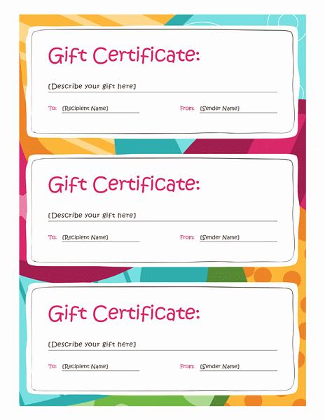 Word Gift Certificate Template Beautiful Certificate Templates Download Amp Free Certificate