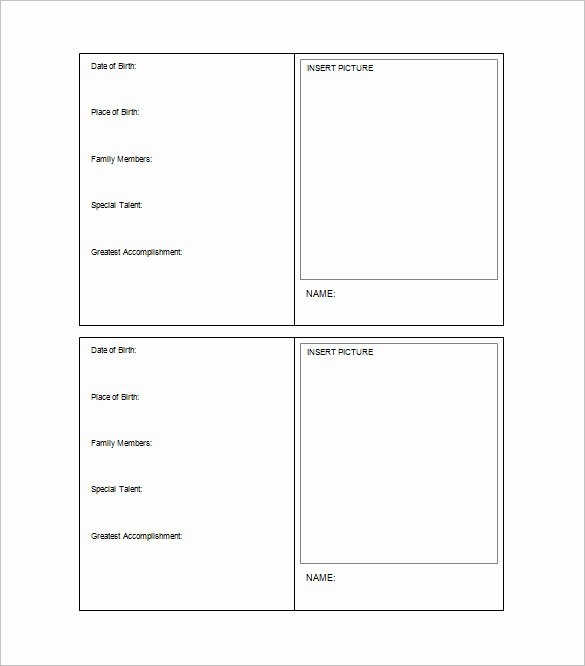 Word Templates for Cards Beautiful 33 Trading Card Template Word Pdf Psd Eps