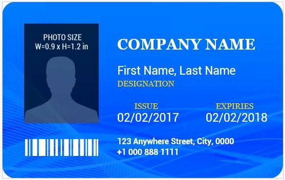 Word Templates for Cards Lovely Ms Word Id Badge Templates for All Professionals