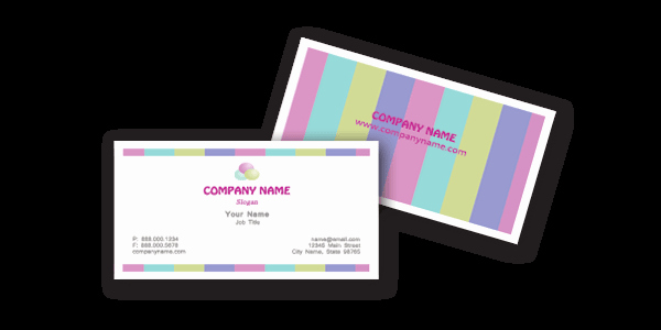 Word Templates for Cards Unique Business Cards Templates Free Word – Microsoft Stationery
