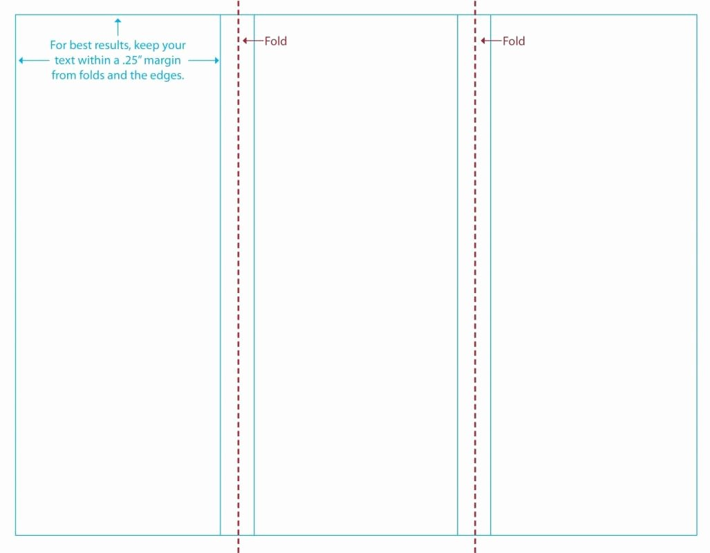 Word Tri Fold Templates Beautiful Free Tri Fold Brochure Template Word