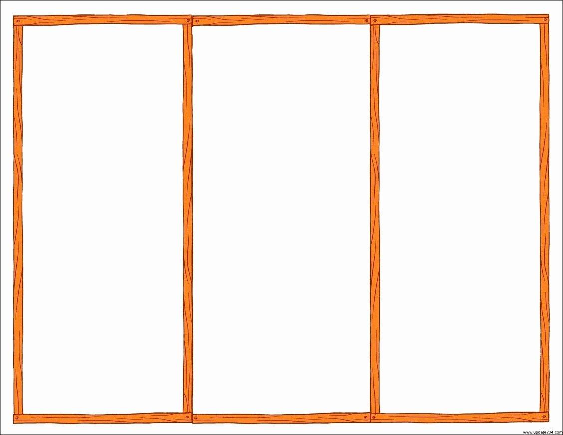 Word Tri Fold Templates Best Of Tri Fold Brochure Templates Microsoft Word Template