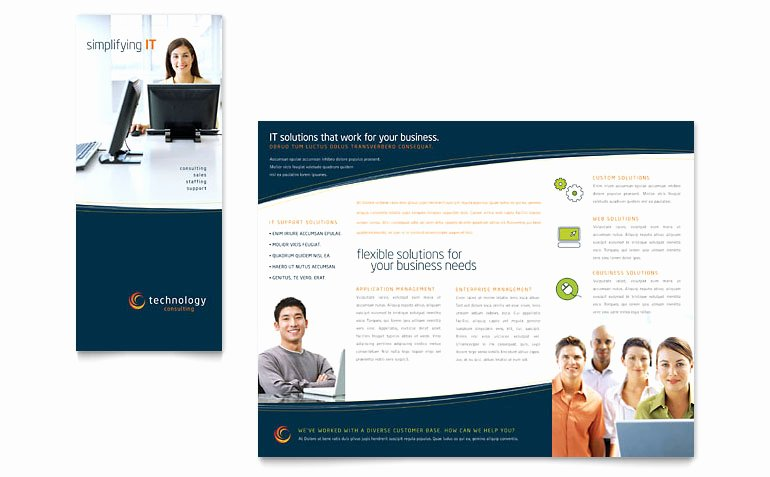 Word Tri Fold Templates Fresh Free Tri Fold Brochure Template Download Word