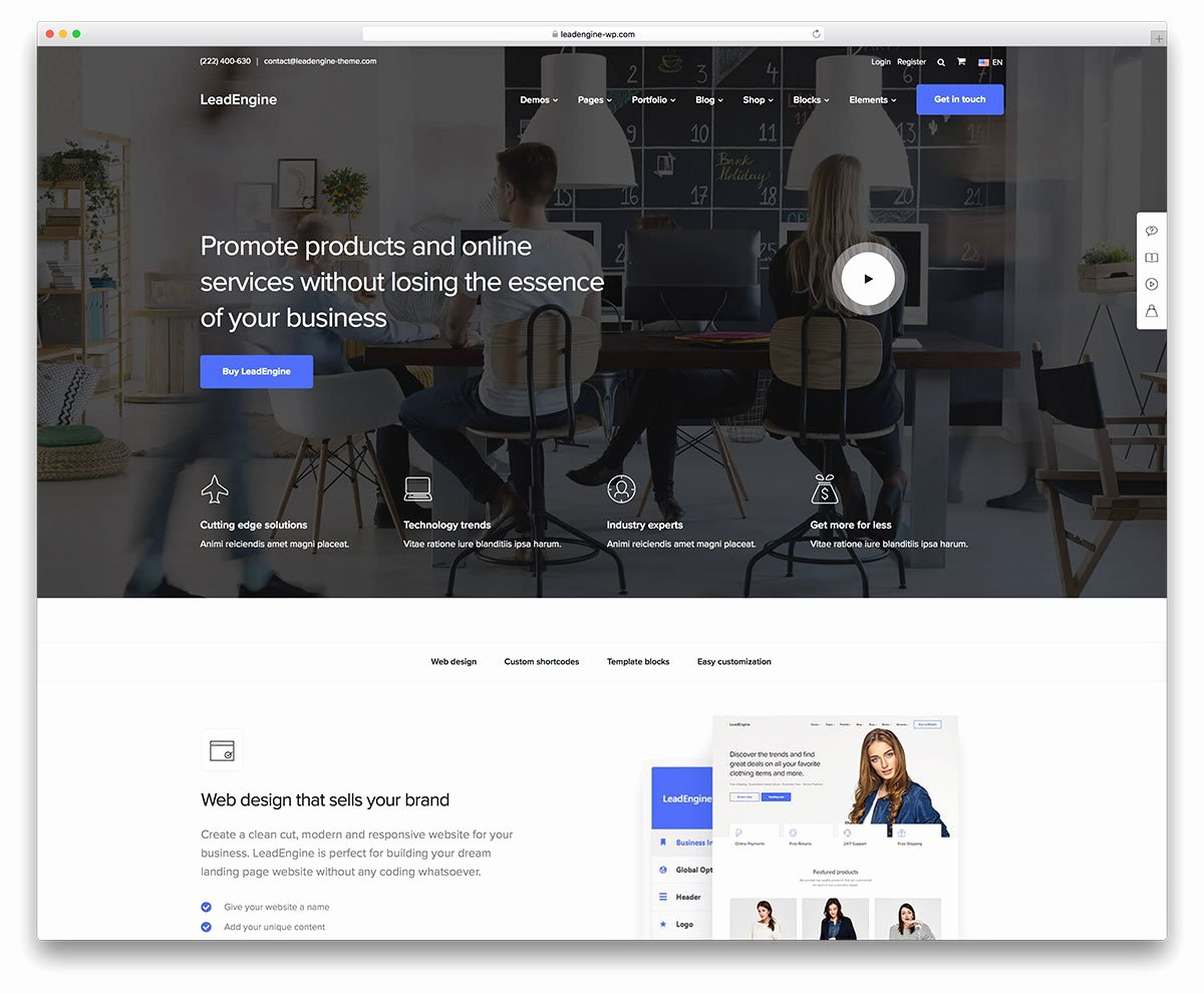 Wordpress Product Catalog theme Lovely 40 Best Landing Page Wordpress themes for Apps Products