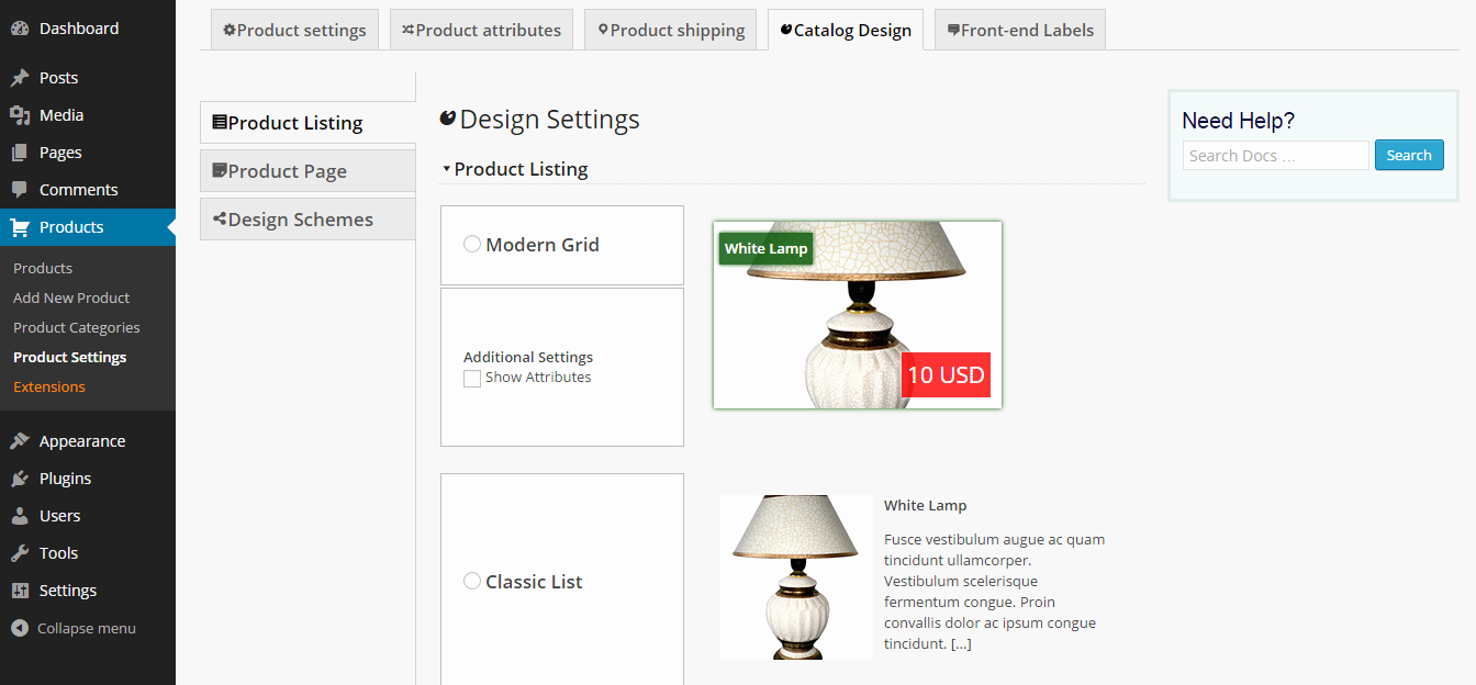 Wordpress Product Catalog theme Lovely E Merce Product Catalog Plugin for Wordpress – Wordpress