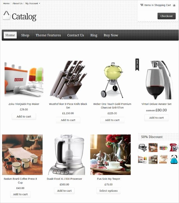 Wordpress Product Catalog theme New 10 Catalog Wordpress themes & Templates