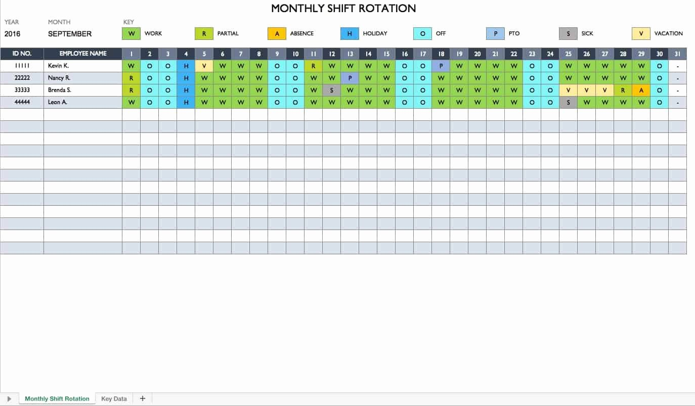 Work Plan Templates Excel Fresh Free Work Schedule Templates for Word and Excel Smartsheet