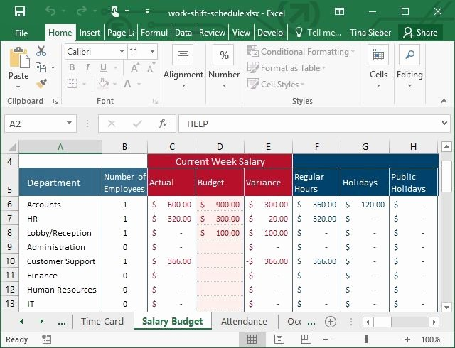 Work Plan Templates Excel Luxury Tips & Templates for Creating A Work Schedule In Excel
