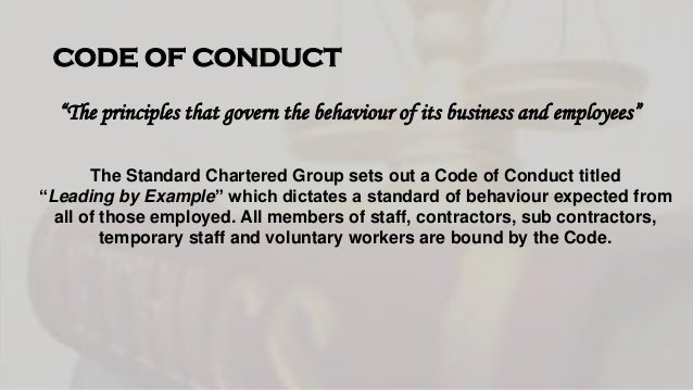 Workplace Code Of Conduct Template Beautiful A Presentation On the Ethical Measures Faced by Standard