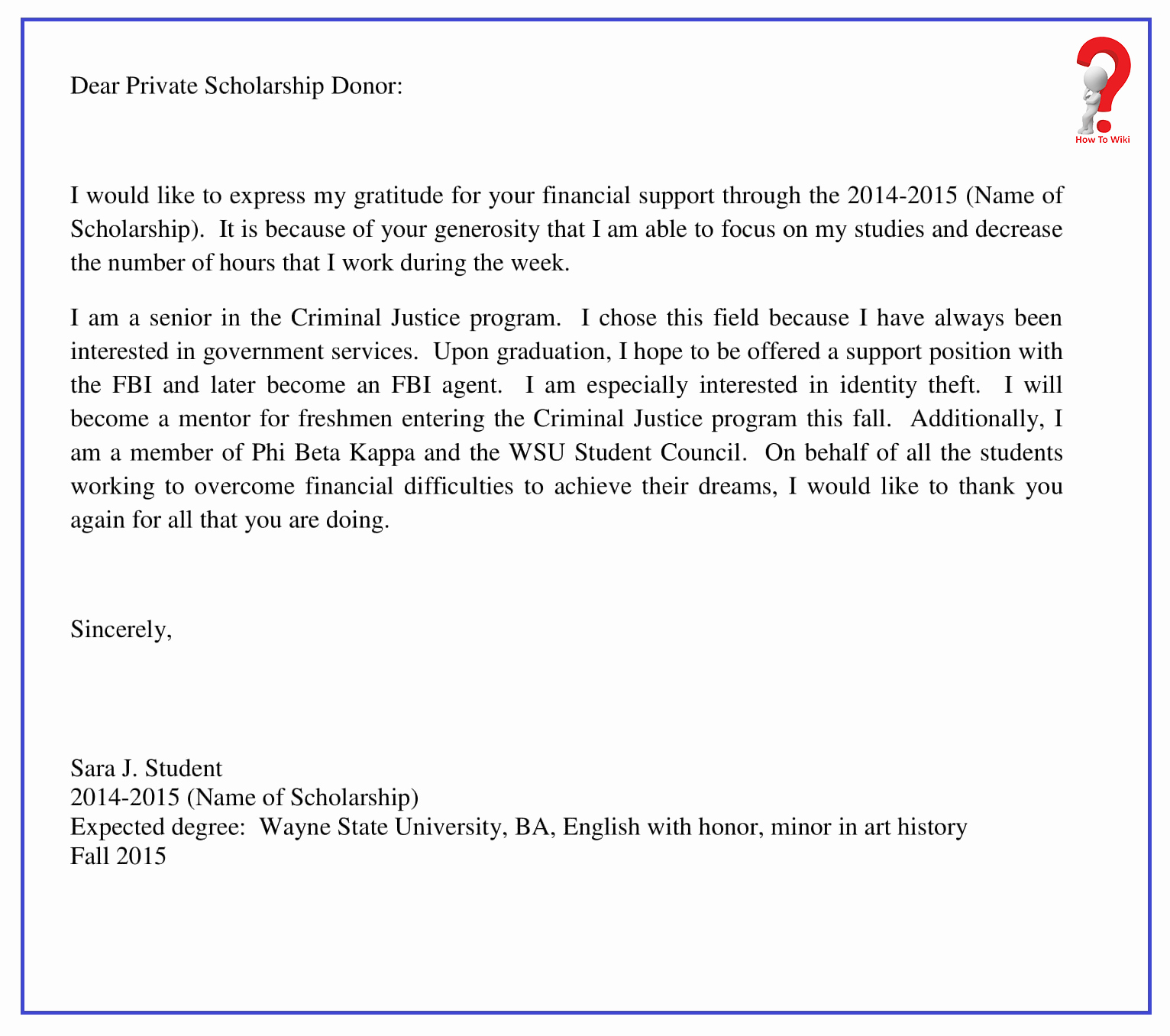 Write A Thank You Letter Awesome How to Write Thank You Letter for Scholarship