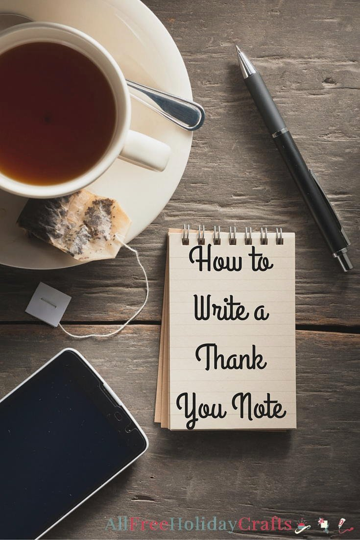 Write A Thank You Letter New How to Write A Thank You Note
