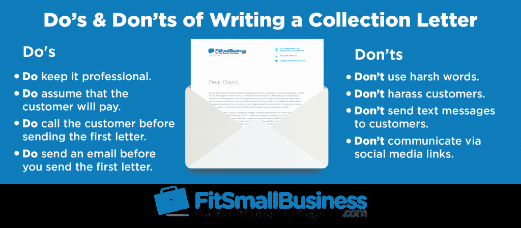 Writing A Collection Letter New How to Write A Collection Letter [ Free Templates]