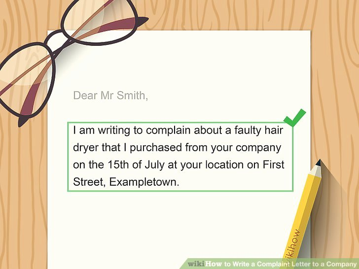 Writing A Complaint Letter New How to Write A Plaint Letter to A Pany with Sample