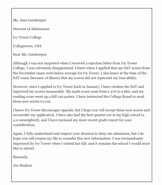 Writing An Appeal Letter Awesome How to Write An Appeal Letter for College