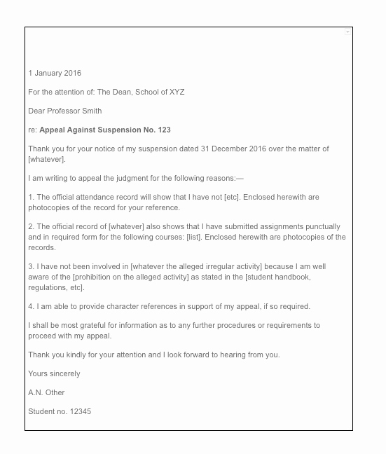 Writing An Appeal Letter Best Of How to Write An Appeal Letter for College