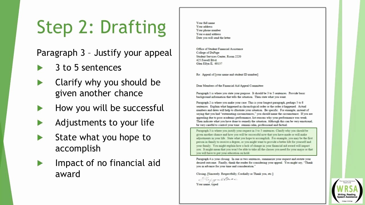 Writing An Appeal Letter Elegant How to Write An Sap Financial Appeal Letter