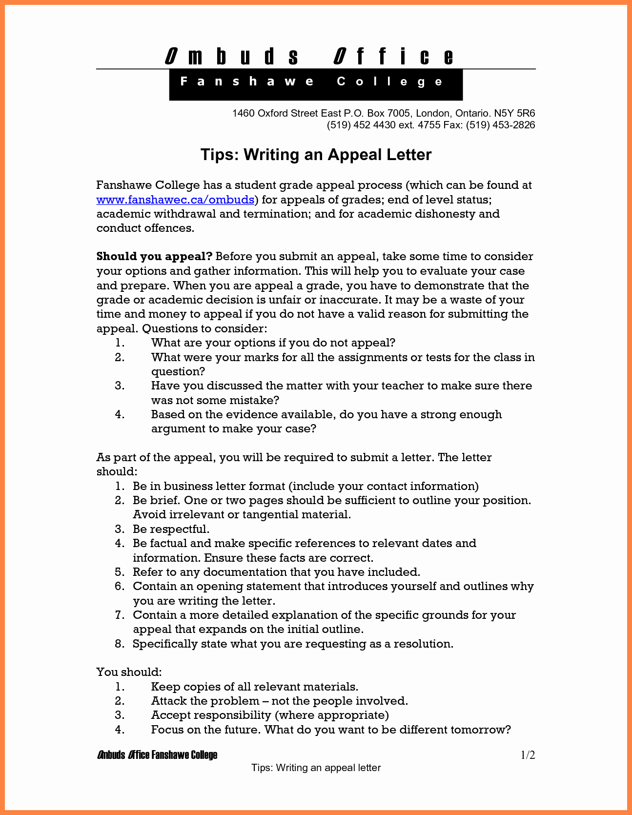 Writing An Appeal Letter Inspirational 7 How to Write An Appeal Letter for College