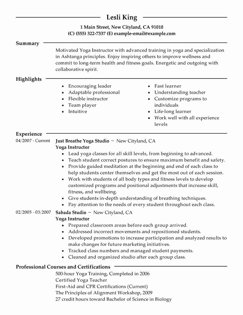 Yoga Teacher Resume Sample Fresh Persuasive Speech Help Zumba Academicchess X Fc2