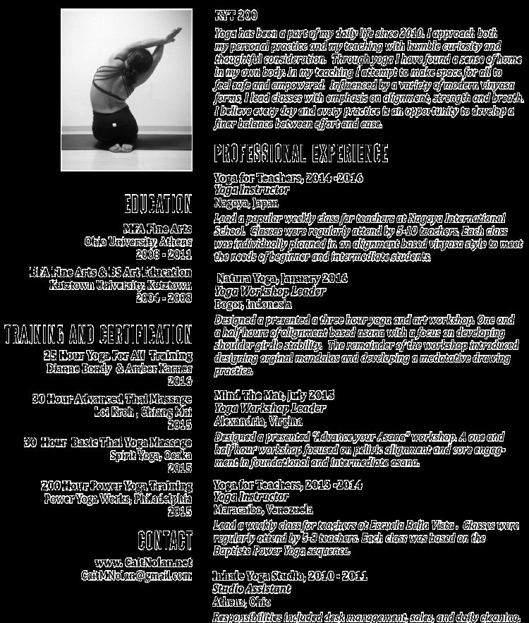 Yoga Teacher Resume Sample Inspirational Yoga Resume Resume Ideas
