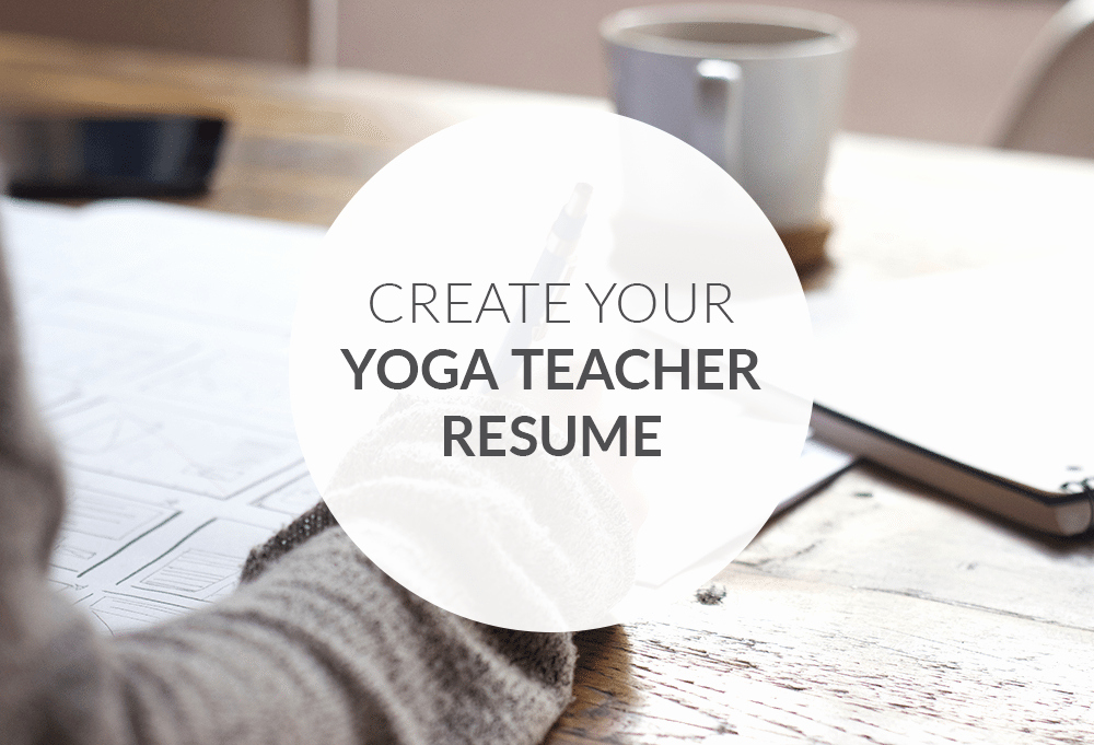 Yoga Teacher Resume Sample Lovely How to Create the Perfect Yoga Teacher Resume the Yoga