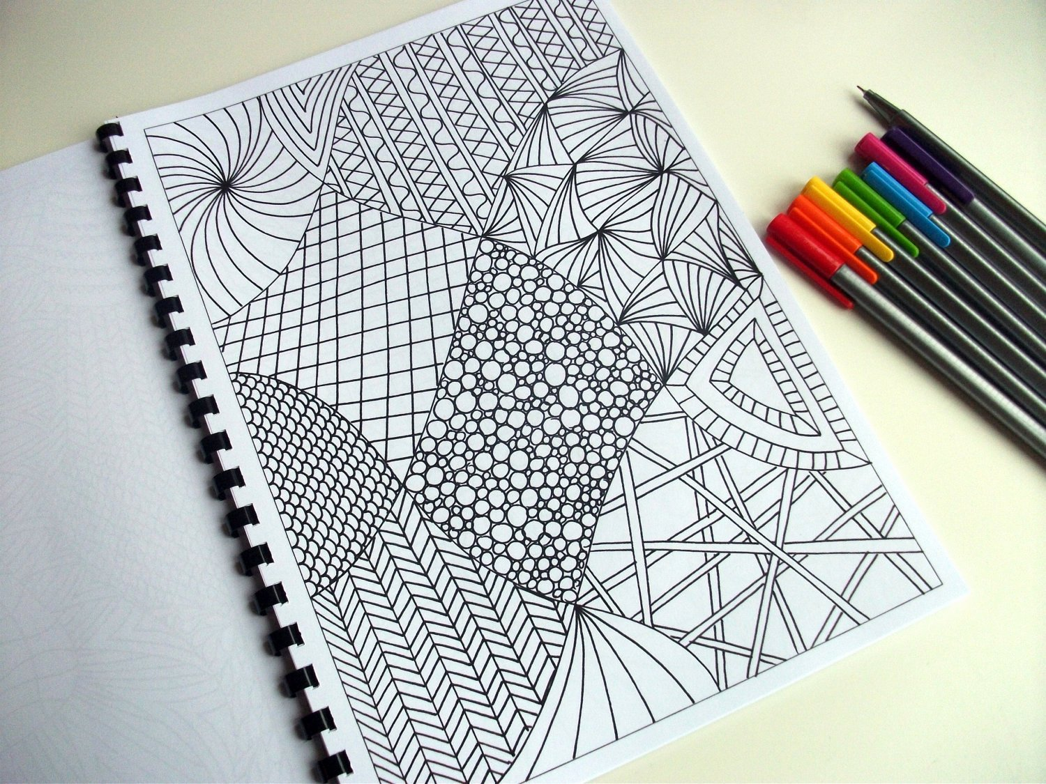 Zentangle Patterns to Print Best Of Printable Coloring Page Zentangle Inspired Abstract Art