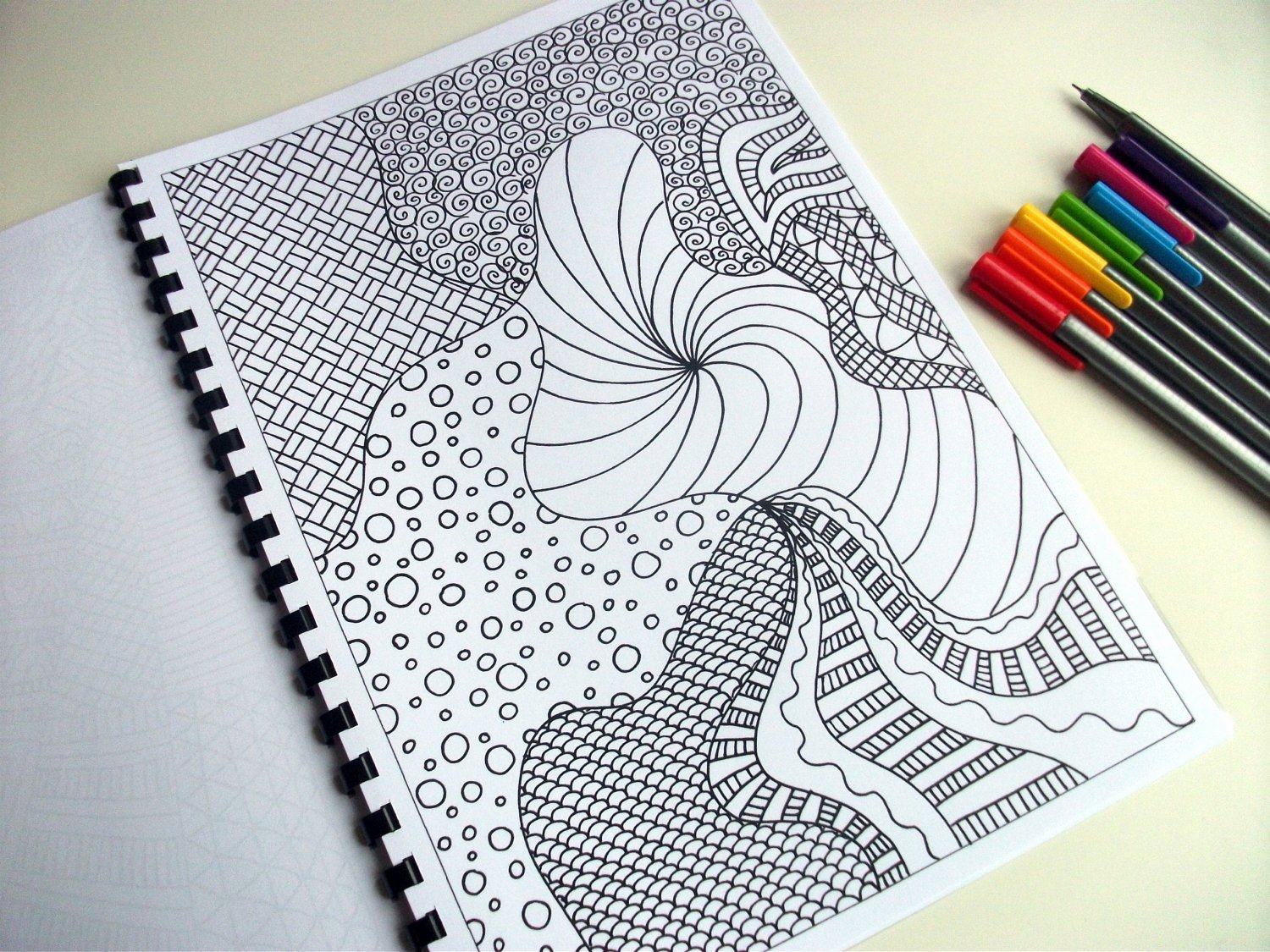 Zentangle Patterns to Print Elegant Items Similar to Printable Coloring Page Zentangle