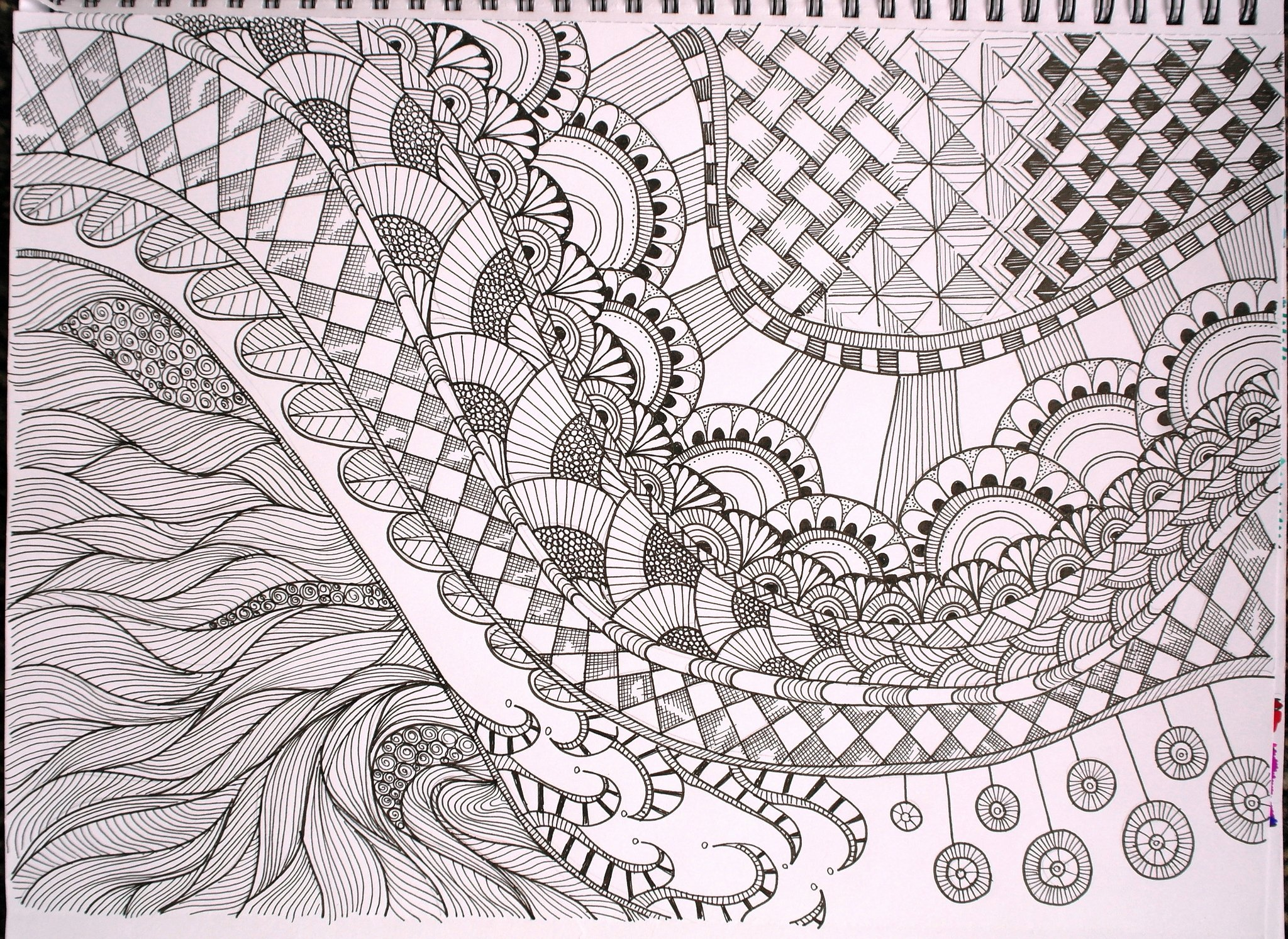 Zentangle Patterns to Print Inspirational Free Printable Zentangle Coloring Pages for Adults