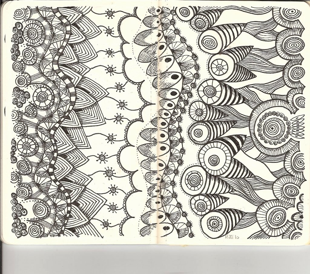 Zentangle Patterns to Print Luxury Free Printable Zentangle Coloring Pages for Adults