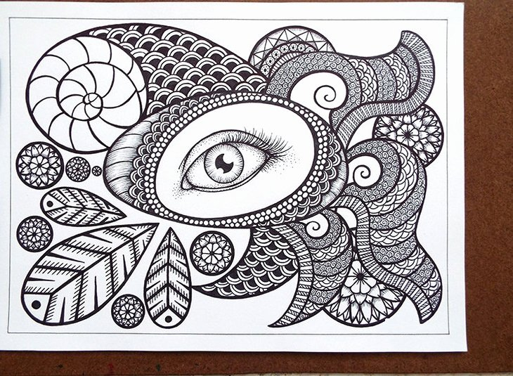 Zentangle Patterns to Print Unique Free Printable Zentangle Coloring Pages for Adults